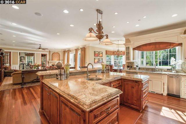 kitchen in steph curry alamo ca mansion