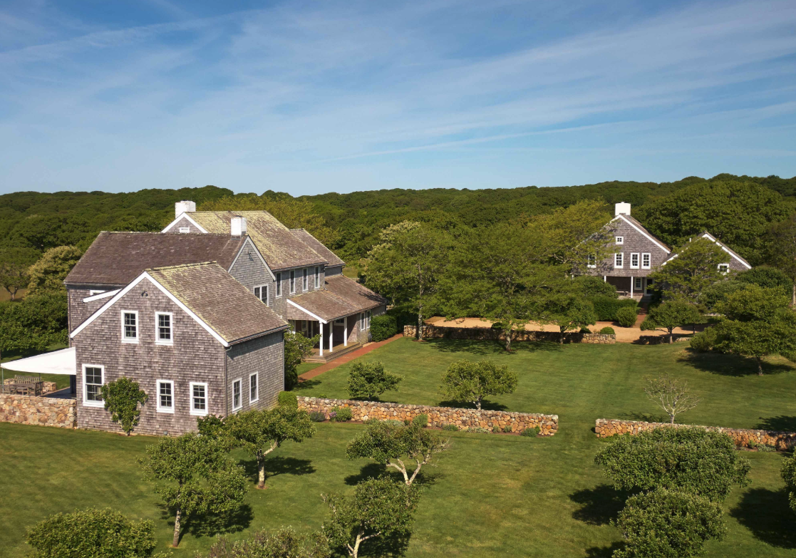 guest house of Jackie O's Martha's Vineyard home