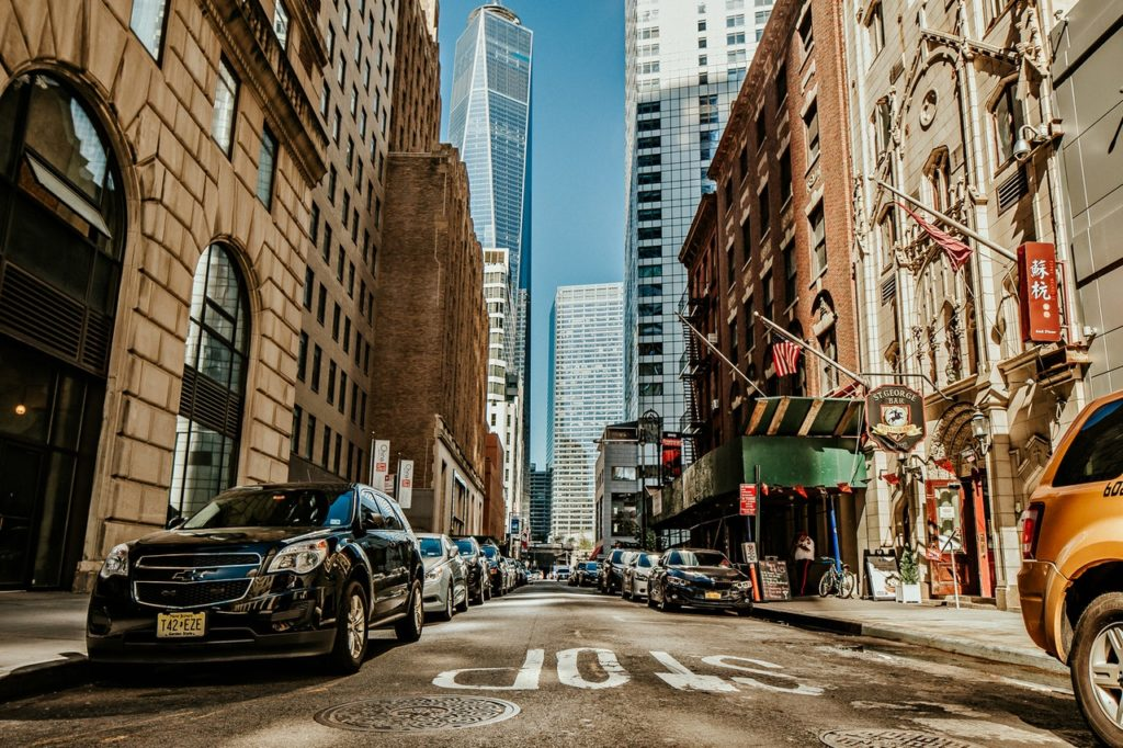 A street in Manhattan allows fo residents to constantly feel like they are living in luxury.