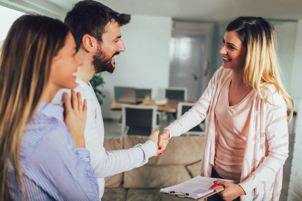 Real estate agent working with Central Ohio buyers